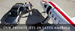 Chile Private Jet Travel